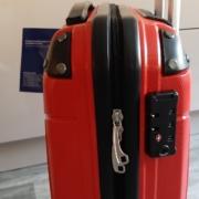 Packenger Bordcase - Silent - (M), Rot, 4 Zwillingsrollen